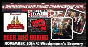 Wiedemann's Beer Boxing Championship 2018