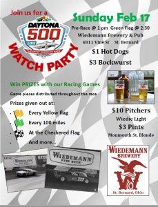 Daytona 500 Watch Party - Win PRIZES