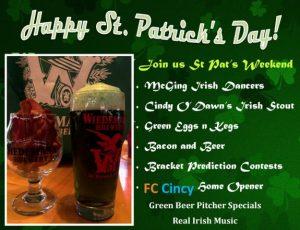 St Patrick meet St Bernard Weekend