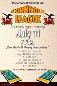 Thursday Night Cornhole Tournaments